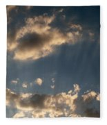 Sunbeams From Heaven Fleece Blanket