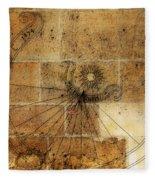 Sundial 1 Fleece Blanket