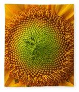 Sunflower Fantasy Fleece Blanket