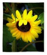 Sunflower One Fleece Blanket
