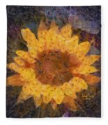 Sunflower Season Fleece Blanket