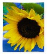 Sunflower Too Fleece Blanket