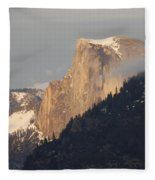 Sunlit Half Dome Fleece Blanket