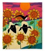 Sunny Disposition Fleece Blanket