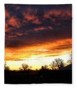 Sunrise 01 05 12 Fleece Blanket