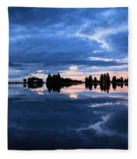 Sunrise At Lake Tahoe Fleece Blanket