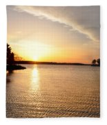Sunrise At St Michaels Fleece Blanket
