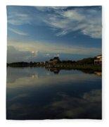 Sunrise At The Outer Banks Fleece Blanket