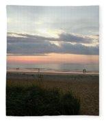 Sunrise Colors Of Maine Fleece Blanket