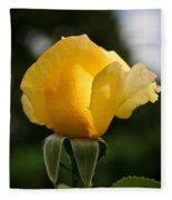 Sunrise Rosebud Fleece Blanket