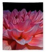 Sunrise Shades Of Pink Fleece Blanket