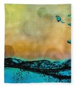 Sunrise Splash Fleece Blanket