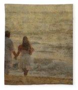 Sunrise Wedding Fleece Blanket