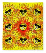 Suns Party Fleece Blanket