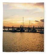 Sunset Bay Fleece Blanket