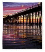 Sunset Bliss Fleece Blanket