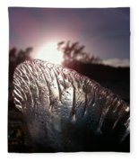 Sunset For Man-o-war Fleece Blanket