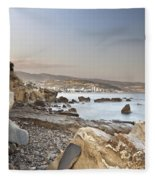Sunset On The Mediterranean Fleece Blanket