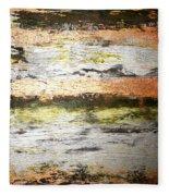 Sunset On The River Fleece Blanket