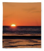 Sunset Park Petoskey Mi Fleece Blanket