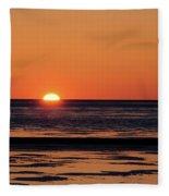 Sunset Park Petoskey Mi Fleece Blanket