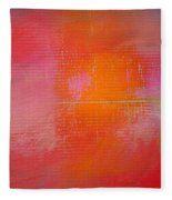 Sunset River Fleece Blanket