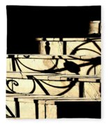 Sunset Steps Fleece Blanket