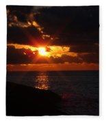 Superior Sunset Fleece Blanket