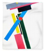 Suprematism Fleece Blanket