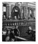 Supreme Court, 1888 Fleece Blanket