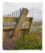 Surf City Chair Fleece Blanket