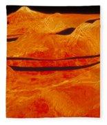 Surface Of Venus Fleece Blanket
