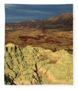 Surreal Colors Fleece Blanket