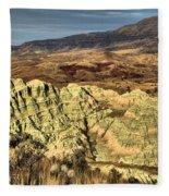 Surreal Landscape Fleece Blanket