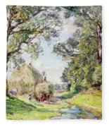 Surrey Landscape  Fleece Blanket