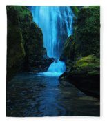 Susan Creek Falls Fleece Blanket