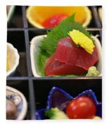 Sushi Art Fleece Blanket