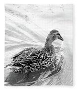 Susie Duck Fleece Blanket