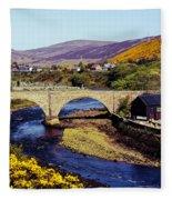 Sutherland Scotland Fleece Blanket