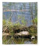 Swamp Fleece Blanket