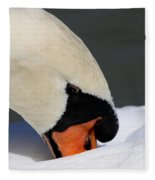 Swan - Soft And Fluffy Fleece Blanket