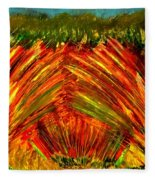 Sweeping Fields Fleece Blanket