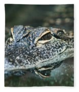 Sweet Baby Alligator Fleece Blanket