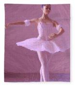 Sweet Ballerina Fleece Blanket