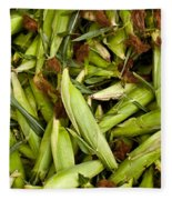 Sweet Corn Fleece Blanket