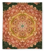 Sweet Peaches Fleece Blanket