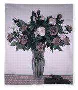 Sweet Valentine Bouquet  Fleece Blanket