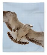 Swooping In For A Meal Fleece Blanket