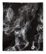 Swriling Smoke  Fleece Blanket