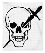 Symbol: Skull & Dagger Fleece Blanket